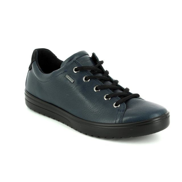 ECCO Lacing Shoes - Navy - 235333/01038 FARA GORE