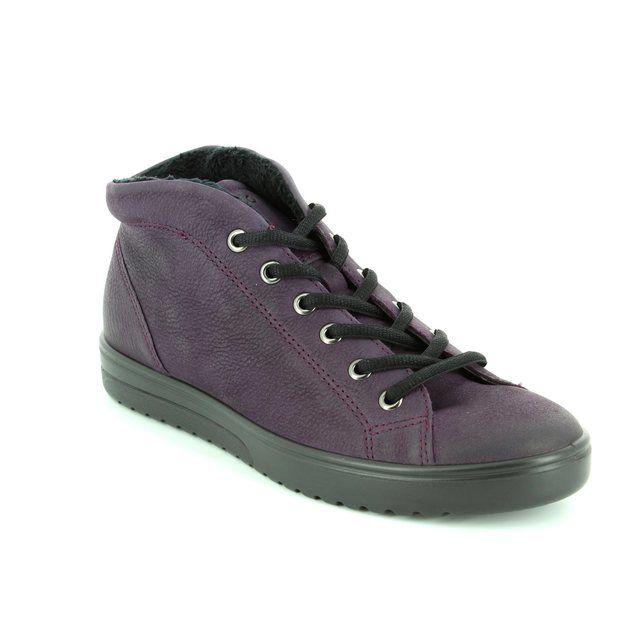 ECCO Ankle Boots - Aubergine - FARA HI 235343/02276