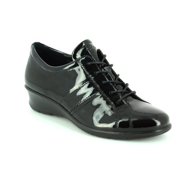 ECCO Lacing Shoes - Black patent - 217073/04001 FELICABEL