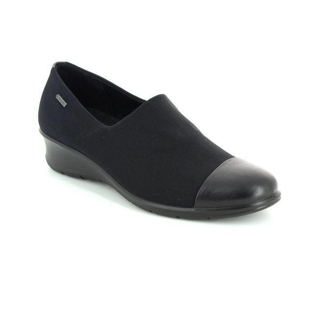 ECCO Comfort Slip On Shoes - Black - 217093/53960 FELICIA GORE-TEX