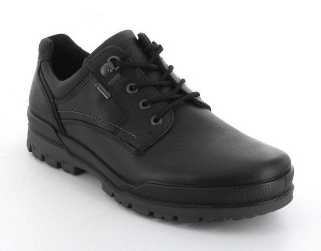 ECCO Field Gore 522004-53859 Black waxy formal shoes