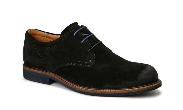 ECCO Findlay 633554-57751 Black suede casual shoes