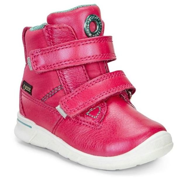 ECCO First Shoes - Raspberry pink - FIRST HOLE GORE 754131/50145