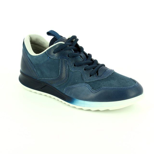 ECCO Lacing Shoes - Navy - 283543/50595 GENNA