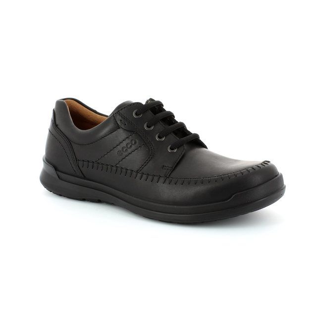 ECCO Howell Stern 524504-01001 Black casual shoes