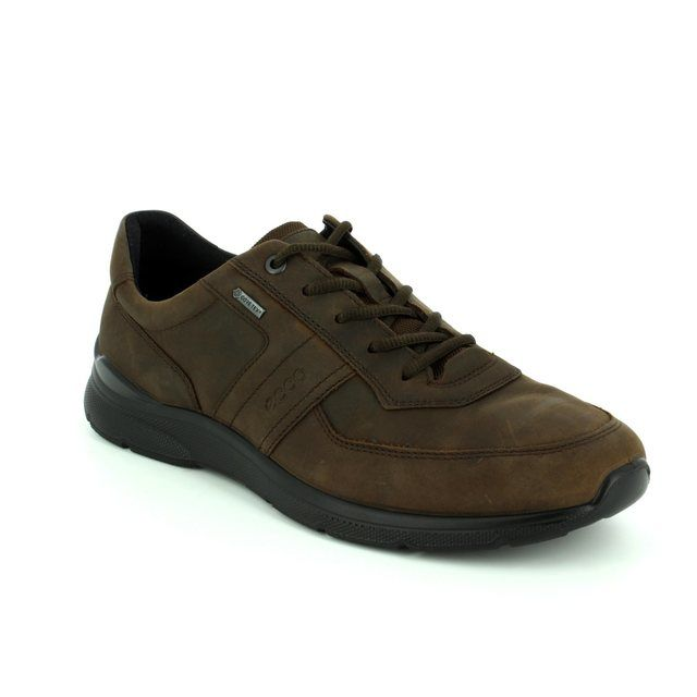 ECCO Irving GORE-TEX 511614-02072 Brown casual shoes