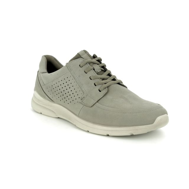 ECCO Casual Shoes - Grey matt leather - 511704/02375 IRVING LACE