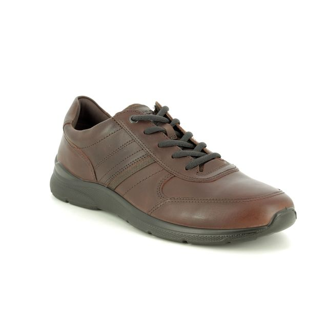 ECCO Casual Shoes - Brown leather - 511564/12014 IRVING TOO