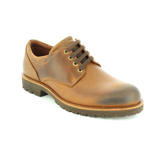 ECCO Casual Shoes - Brown nubuck - 511234/02482 JAMESTON HYDRO