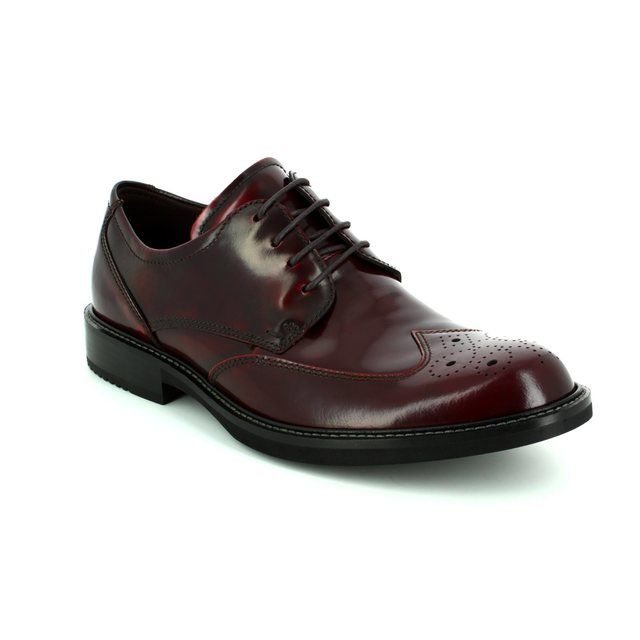 ECCO Brogues - Prune - 512014/01070 KENTON