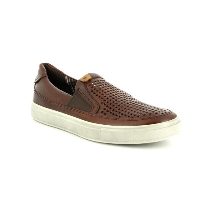ECCO Casual Shoes - Tan - 530764/01053 KYLE