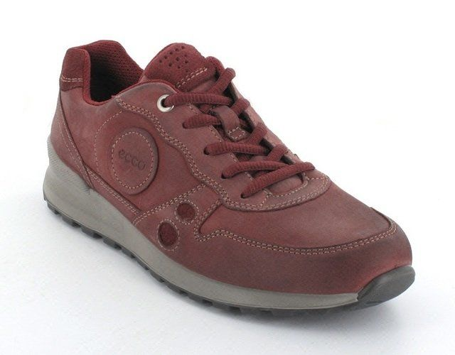 ECCO Light Cs14 232333-57111 Red nubuck lacing shoes