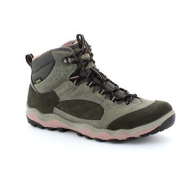 ECCO Lulterra Gore 823113-58999 Grey suede walking boots