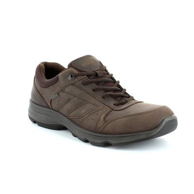 ECCO Casual Shoes - Brown nubuck - 836004/02178 M LIGHT GORE-TEX