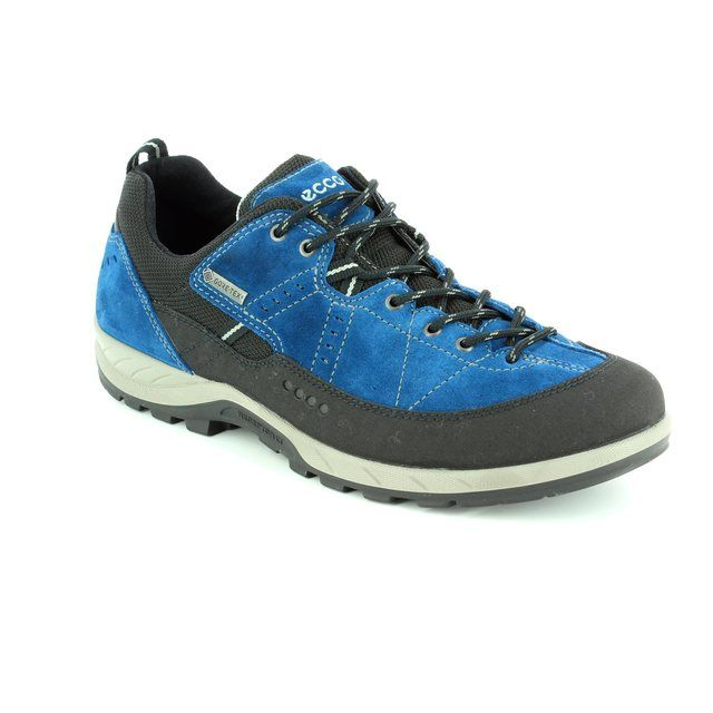ECCO M Yura Gore 840604-59626 Black/blue casual shoes