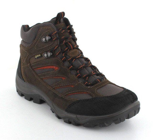 ECCO Mexcel Bt Gore 810204-58689 Brown multi boots