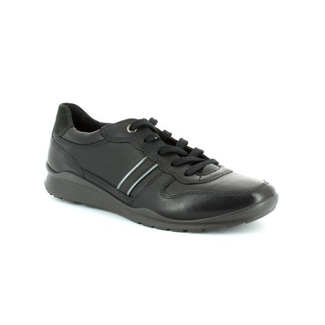 ECCO Mobile 52 215023-59266 Black lacing shoes