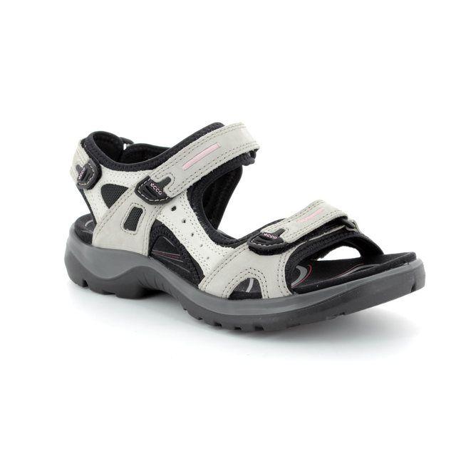 ECCO Walking Sandals - Light grey multi - 069563/54695 OFFROAD