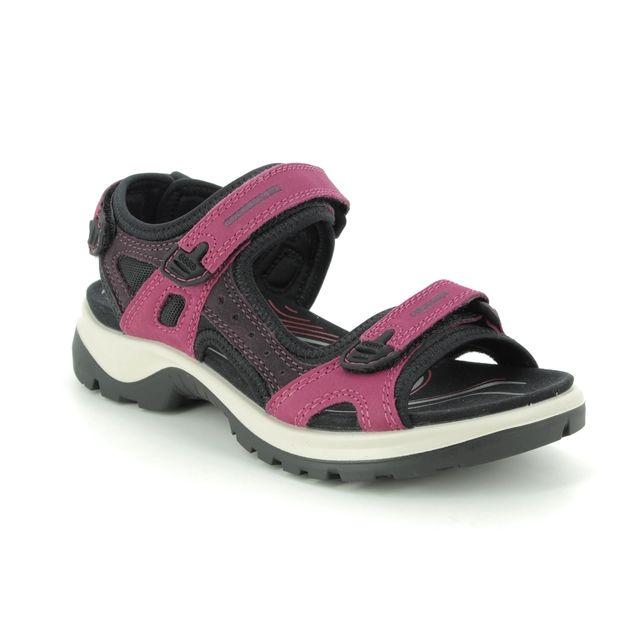 ECCO Walking Sandals - Fuchsia - 069563/51760 OFFROAD LADY