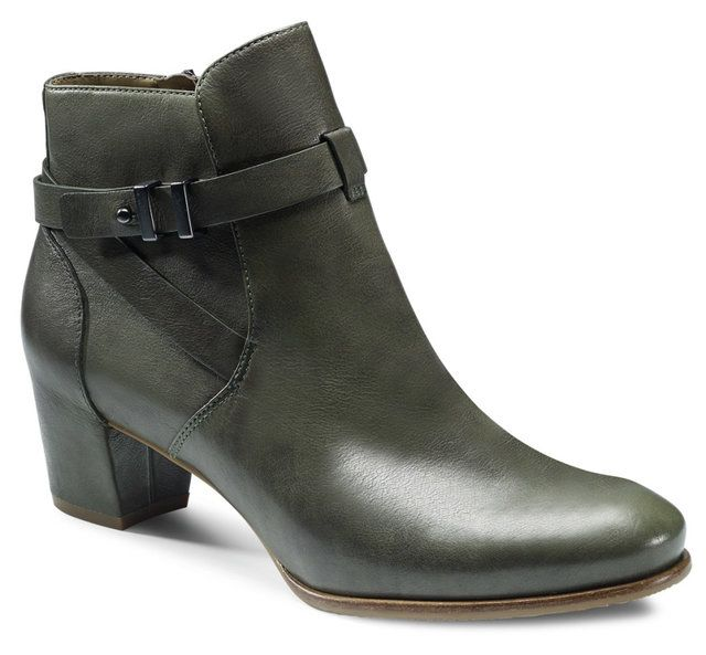 ECCO Pailin 351223-01345 Green ankle boots