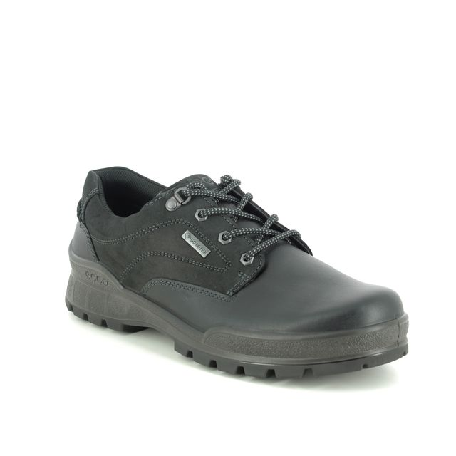 ECCO Comfort Shoes - Black leather - 831844/51052 RUGGED 05 GORE
