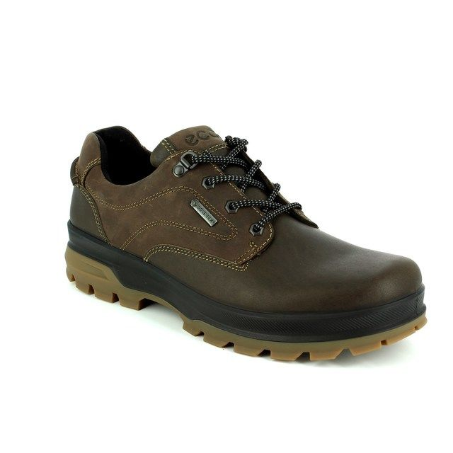 ECCO Casual Shoes - Brown waxy - 838034/56098 RUGGED GORE-TEX