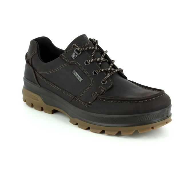 ECCO Casual Shoes - Brown nubuck - 838004/02178 RUGGED TRACK 1944 GORE-TEX