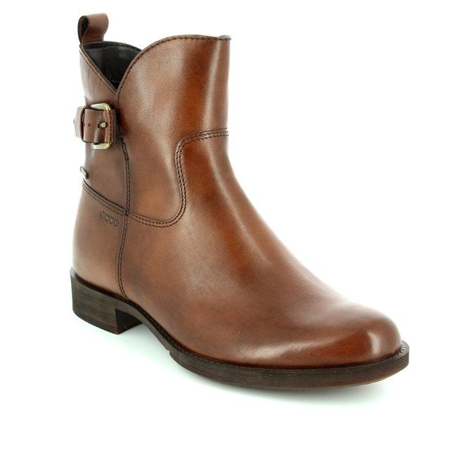 ECCO Saunter Gore 234693-11014 Brown ankle boots
