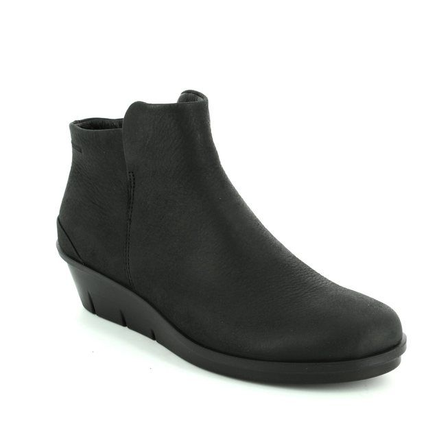 ECCO Wedge Boots - Black - 286013/02001 SKYLER