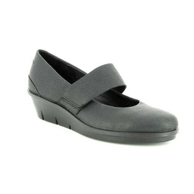 ECCO Mary Jane Shoes - Black - 286043/01001 SKYLER BAR