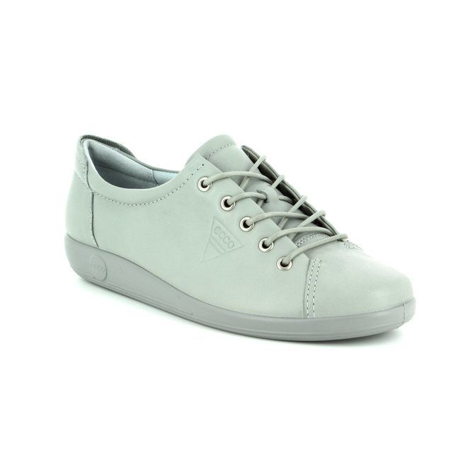 ECCO Lacing Shoes - Light Grey - ALSO SOFTER 81 206503/01539