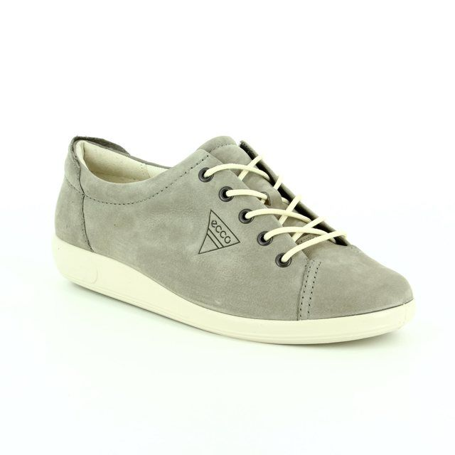 ECCO Lacing Shoes - Light taupe - 206503/02375 SOFT 2.0