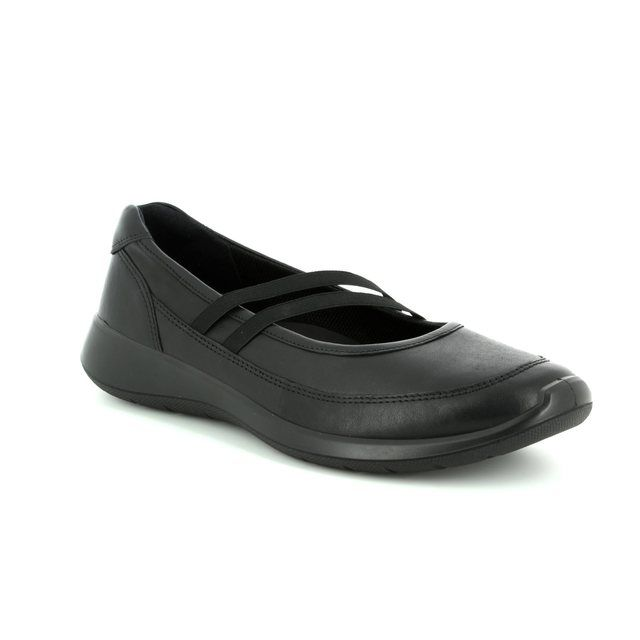 ECCO Mary Jane Shoes - Black - 283183/01001 SOFT 5