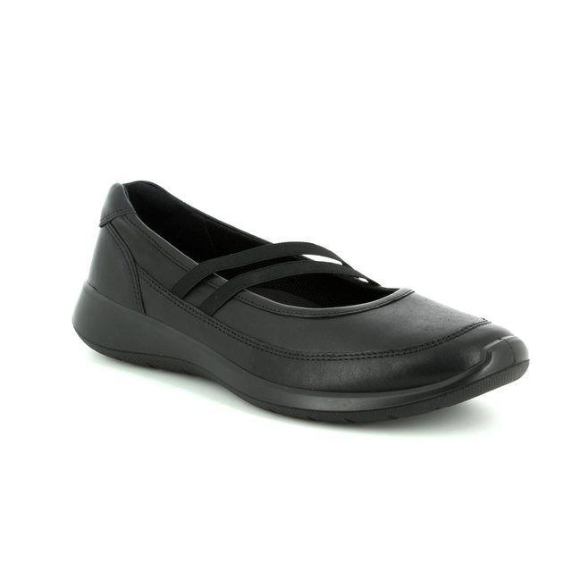 ECCO Mary Jane Shoes - Black - 283183/01001 SOFT 5