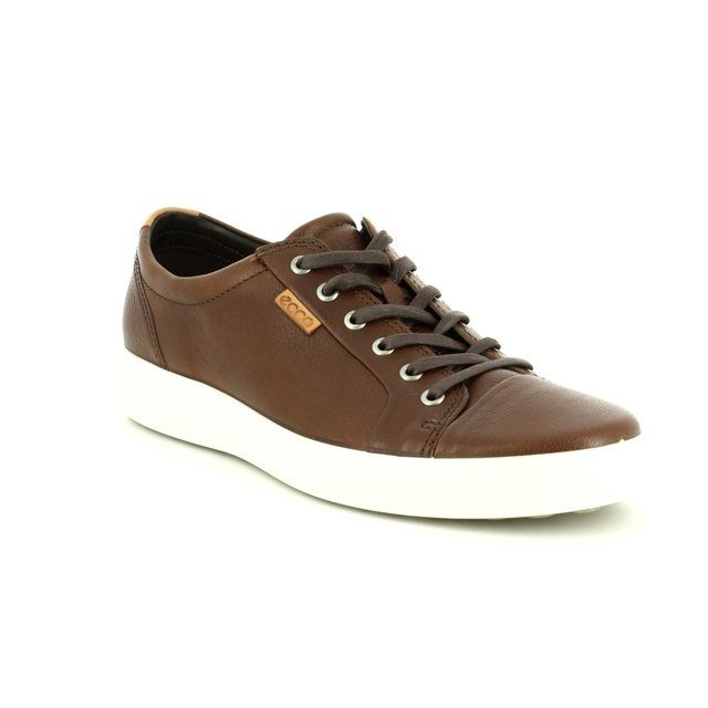 ECCO Trainers - Tan - 430004/01283 SOFT 7 MENS