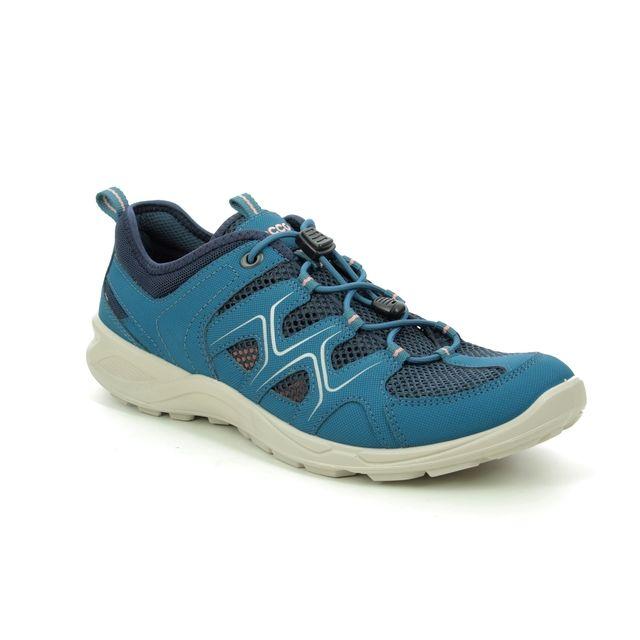 ECCO Trainers - Teal blue - 825773/51390 TERRACRUISE 01