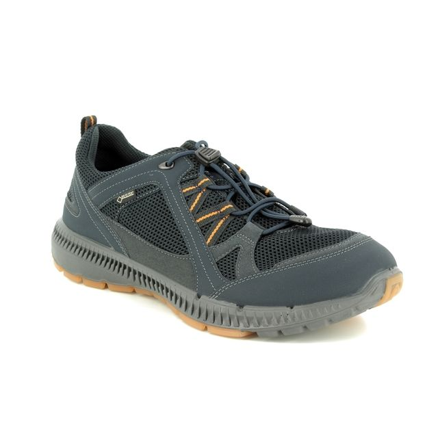 ECCO Trainers - Navy Multi - 843034/51127 TERRACRUISE II GORE-TEX