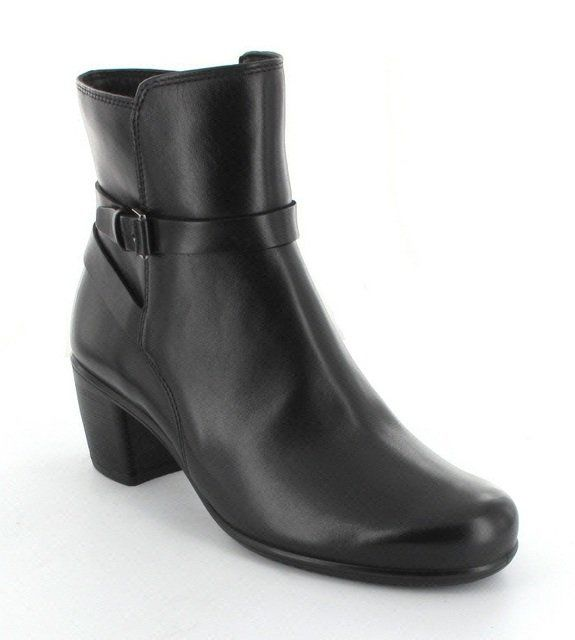 ECCO Touch55 263023-01001 Black ankle boots