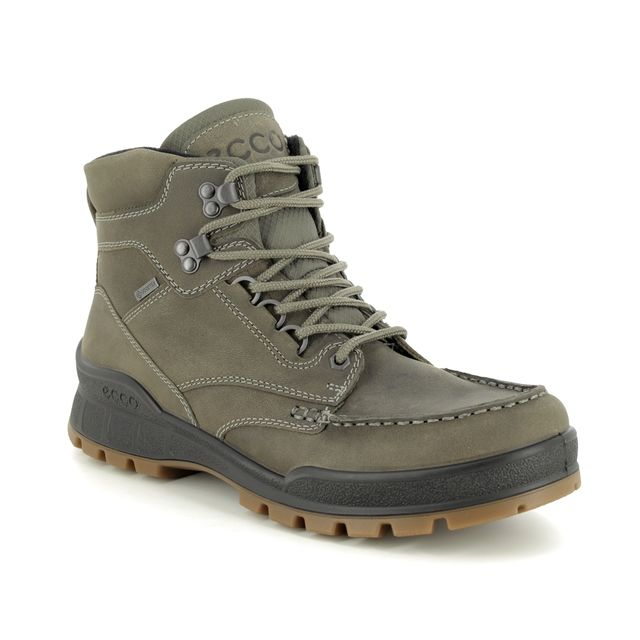 ECCO Boots - Khaki Leather - 831814/01543 TRACK 25 BT GTX