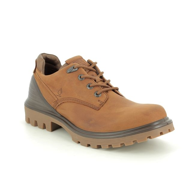 ECCO Casual Shoes - Tan Leather  - 460364/50146 TRED TRAY TEX