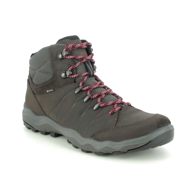ECCO Outdoor Walking Boots - Brown leather - 823224/55821 ULTERRA MENS GORE