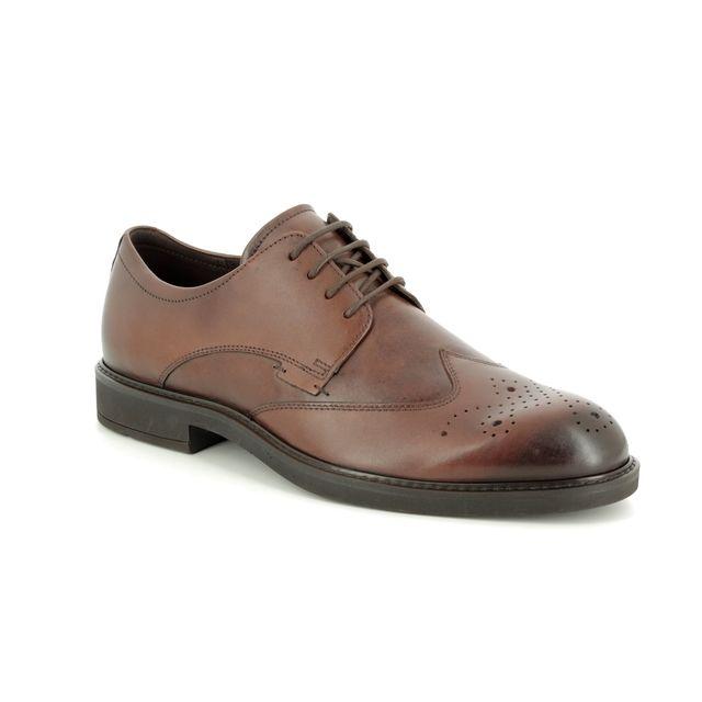 ECCO Brogues - Tan Leather - 640524/01112 VITRUS III