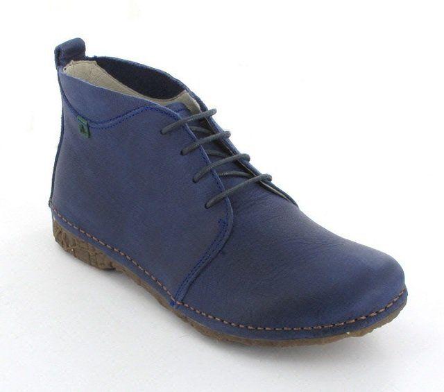 El Naturalista Angkor 9740-70 Blue ankle boots