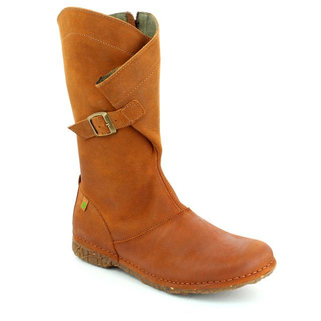 El Naturalista Knee-high Boots - Tan - N916/20 ANGKOR N916