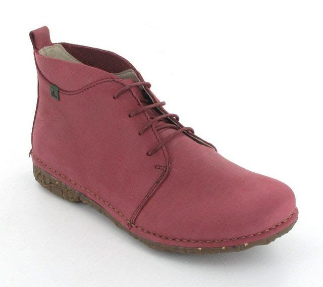 El Naturalista Angkor N974 -90 Red ankle boots