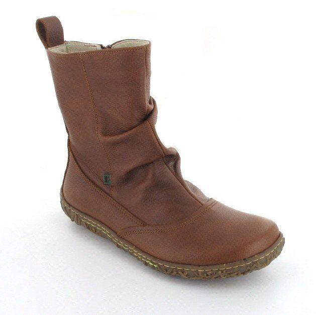 El Naturalista Classic N722 -30 Tan ankle boots