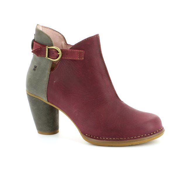 El Naturalista Colibri N472 -80 Wine multi ankle boots