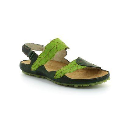 El Naturalista Ikebana N119 N119 -80 Green multi sandals