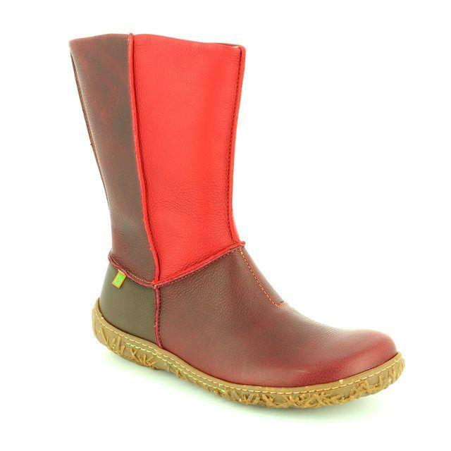El Naturalista Ankle Boots - Wine multi - N796/90 NIDO ELLA N796
