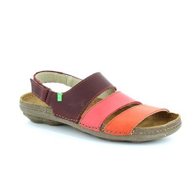 El Naturalista Torcalsand N31 N317 -90 Purple multi sandals